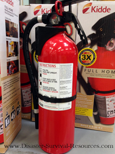 Buying a Fire Extinguisher