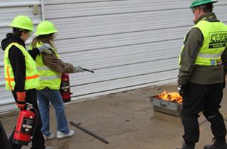 CERT Fire Extinguisher Training