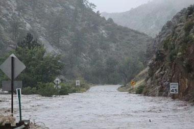 Estes Park Flooding 2013