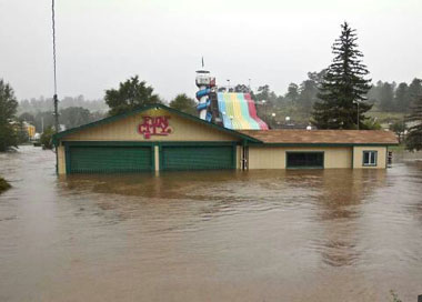 Fun City Estes Park Floods