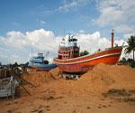 Post Tsunami fishing Boat